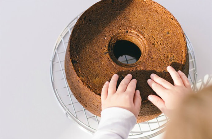 Recipe: Pumpkin Pound Cake with Sour Cream Ganache
