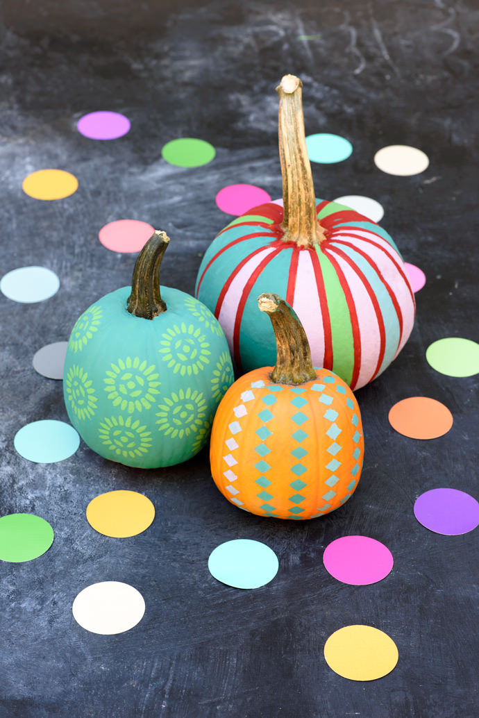 The Painted Mini Pumpkin Patch