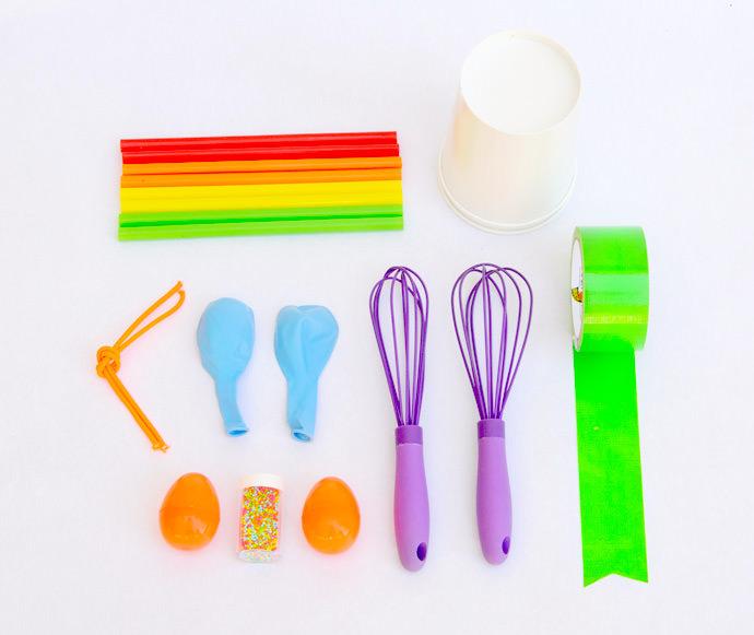 DIY Instrument Materials