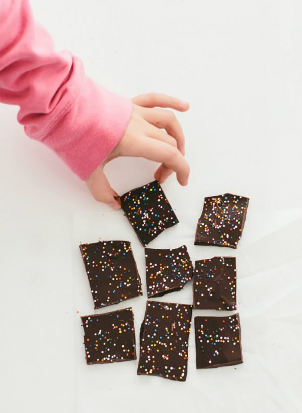 Sweet n' Simple Chocolate Bark Recipe