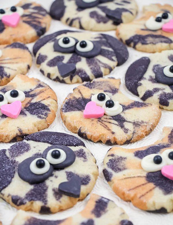 DIY Calico Cat and Dalmatian Cookies
