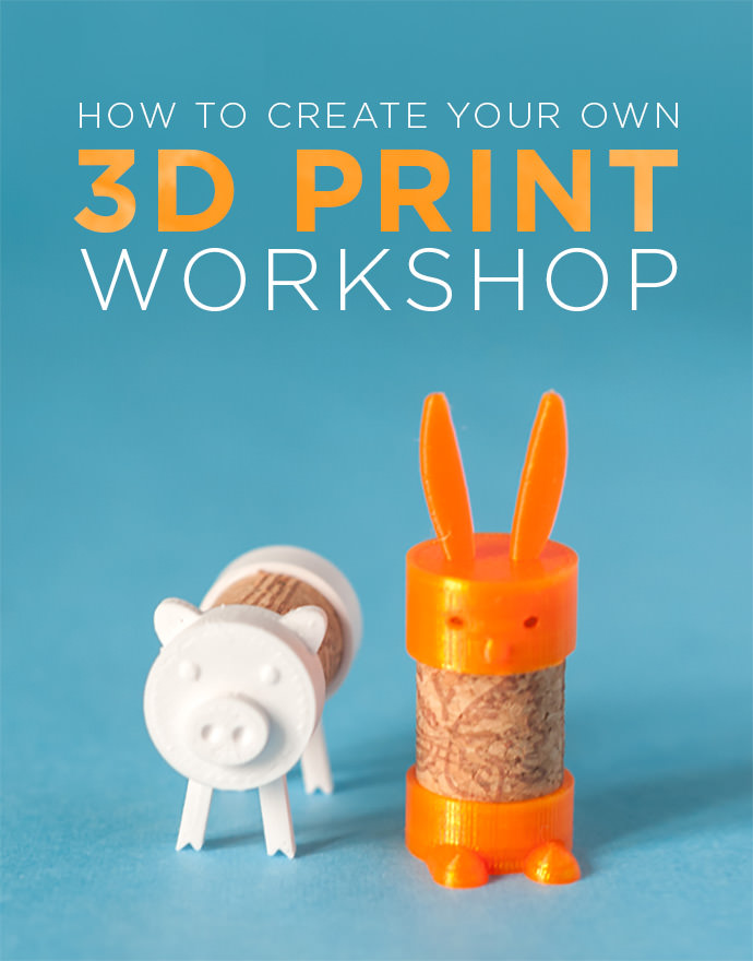 Create Your Own 3d Print Workshop