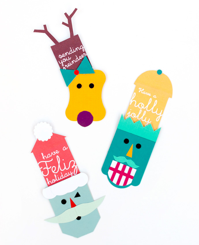 Pop up holiday gift tags handmade charlotte fiskars gift wrap pop up tags negle Gallery