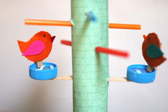 DIY Bird Feeder Play Set | Handmade Charlotte