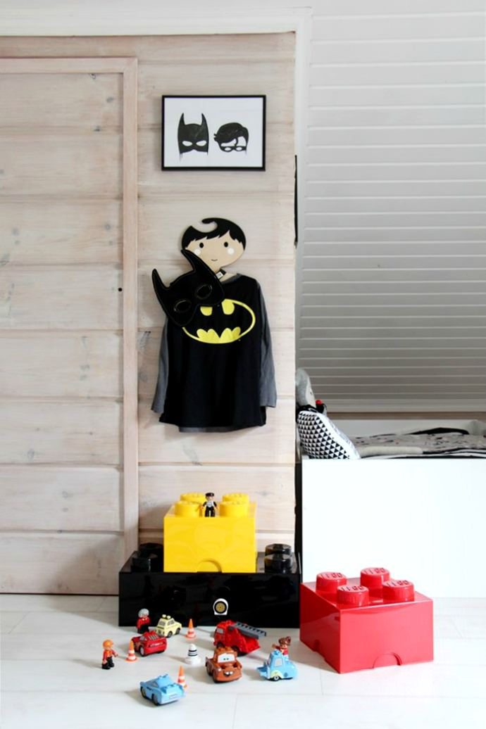 A room fit for little super heroes via Kaikki Mitä Olen