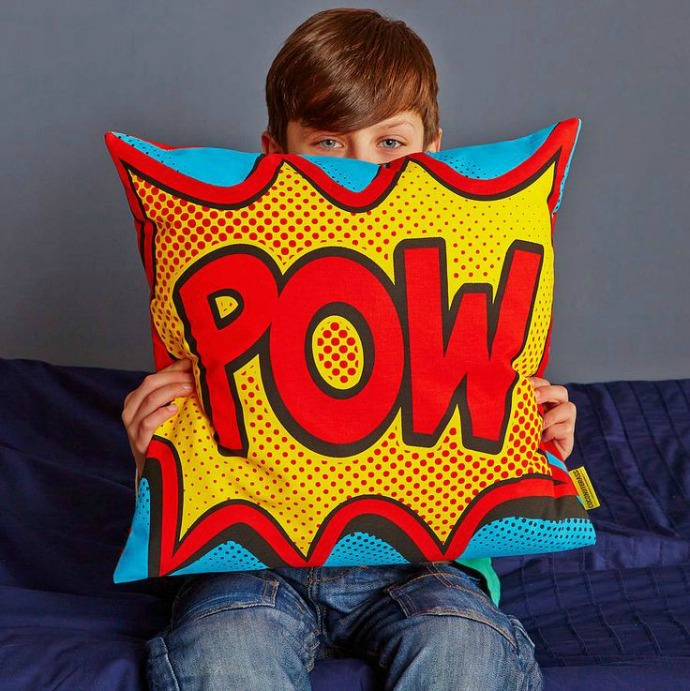 Whizz Pop Bang, these cushions will blow your socks off!