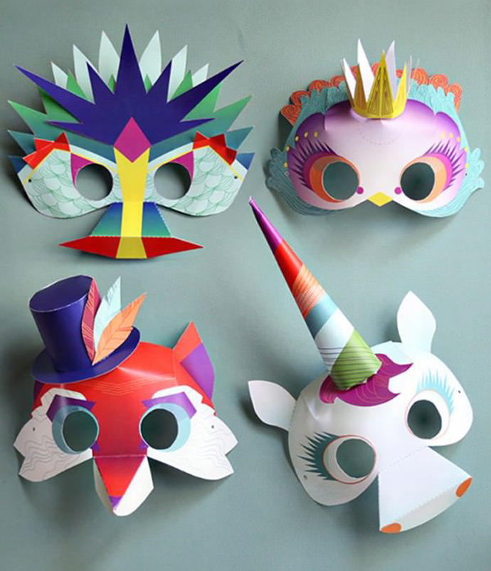Printable masks by Smallful