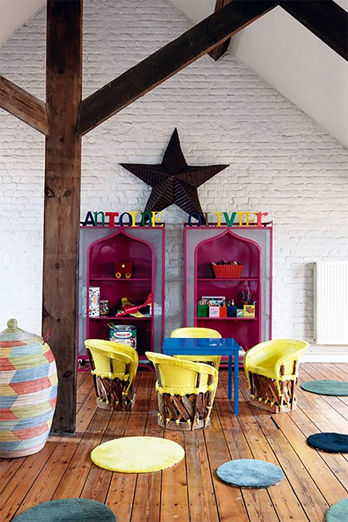 Colorful Kids Bonus Room