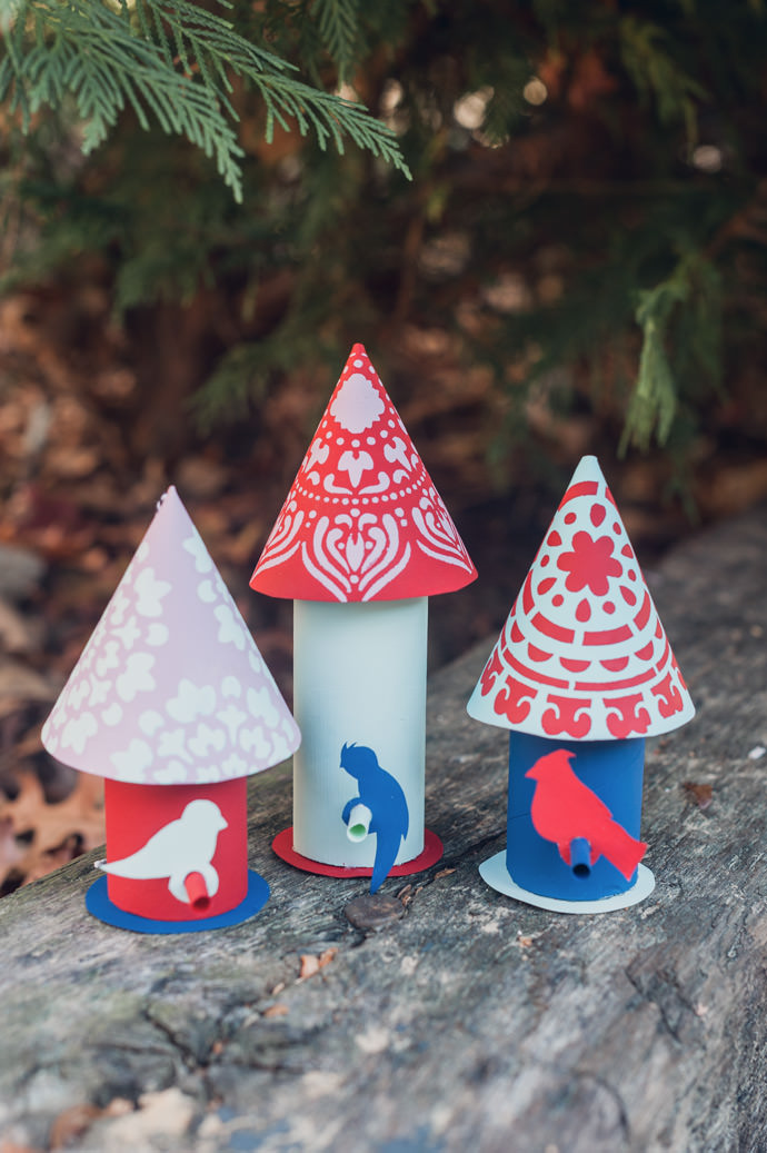 Paper Craft Birds For Your Christmas Tree Handmade Charlotte
