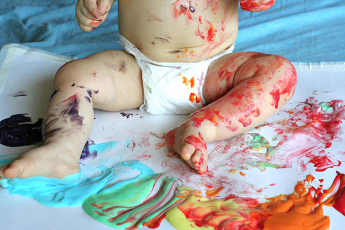 Scented Edible Paint