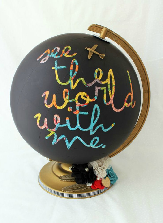 Get-Creative-with-a-Chalkboard-Globe-(via-Mandy-Starner)