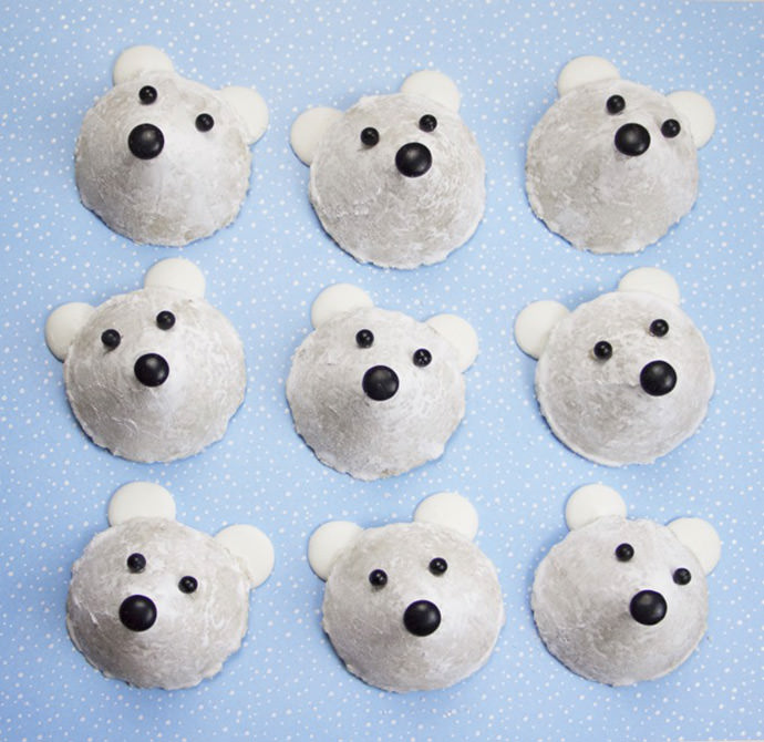 Easy No Bake Polar Bear Cookies For Kids Handmade Charlotte