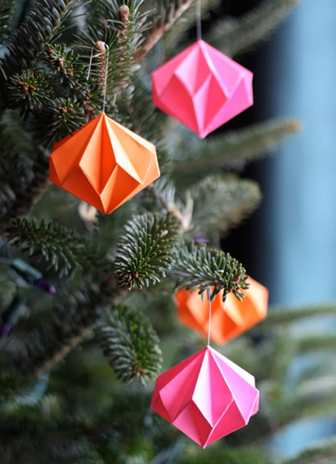 DIY Christmas Tree Ornaments For Kids ⋆ Handmade Charlotte