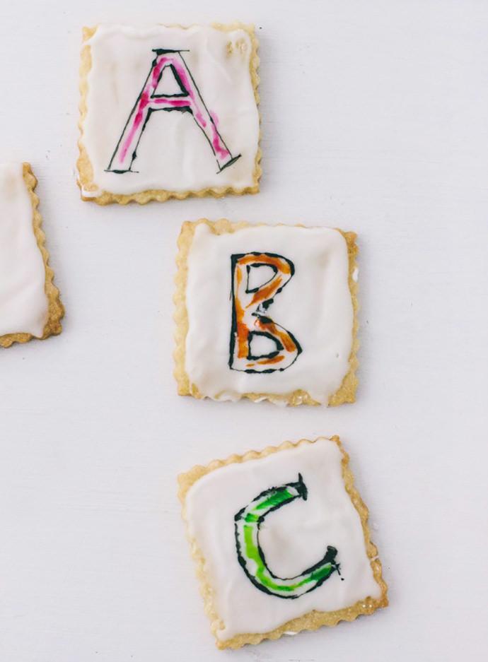 DIY Scribble Art Sugar Cookies