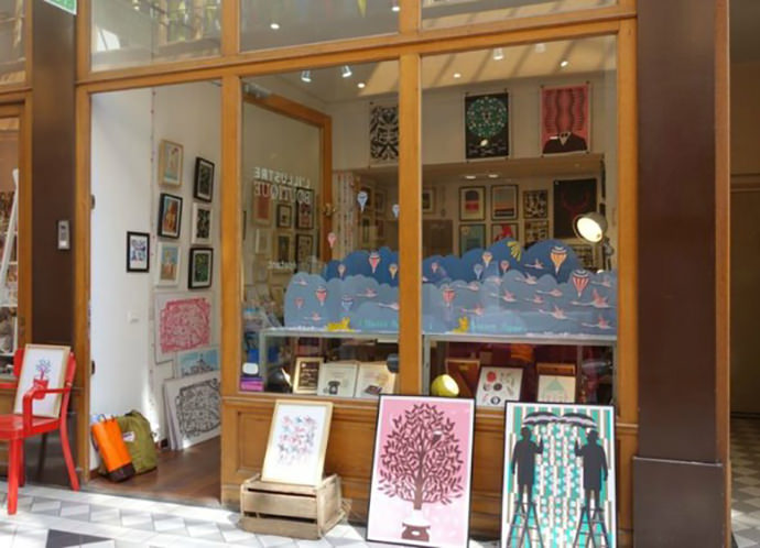 Paris boutique L'illustre-Boutique
