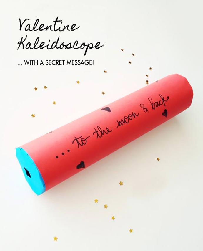 DIY Valentine's Kaleidoscope