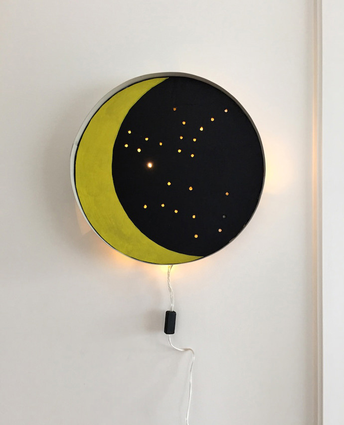 DIY Moon Lamp