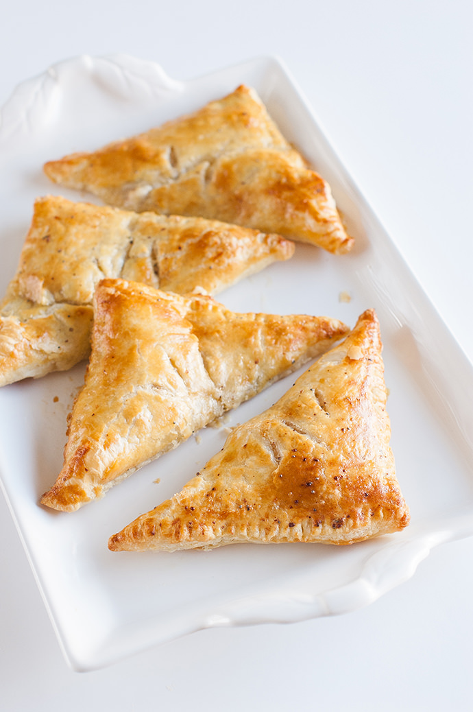Quick and Easy Ham & Cheese Turnovers