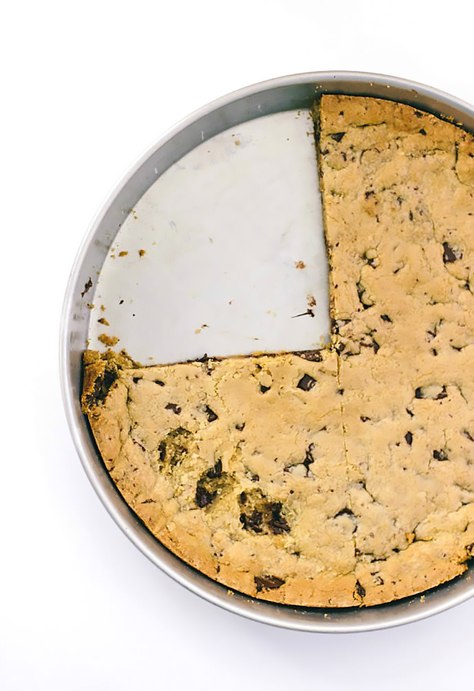 The Biggest Chocolate Chip Cookie Recipe Ever Handmade
