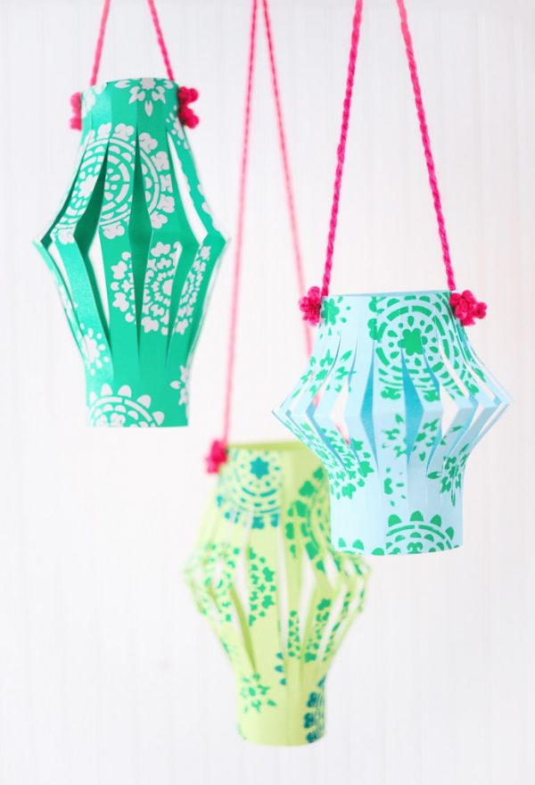 How To Make Chinese Paper Lanterns In 3 Easy Steps