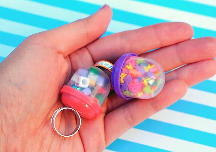 DIY Vending Machine Bubble Ring