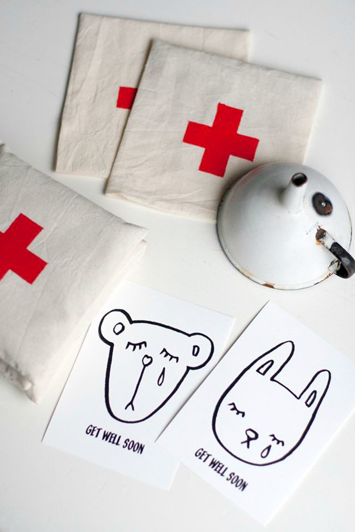 DIY Get Well Soon Bags for Kids