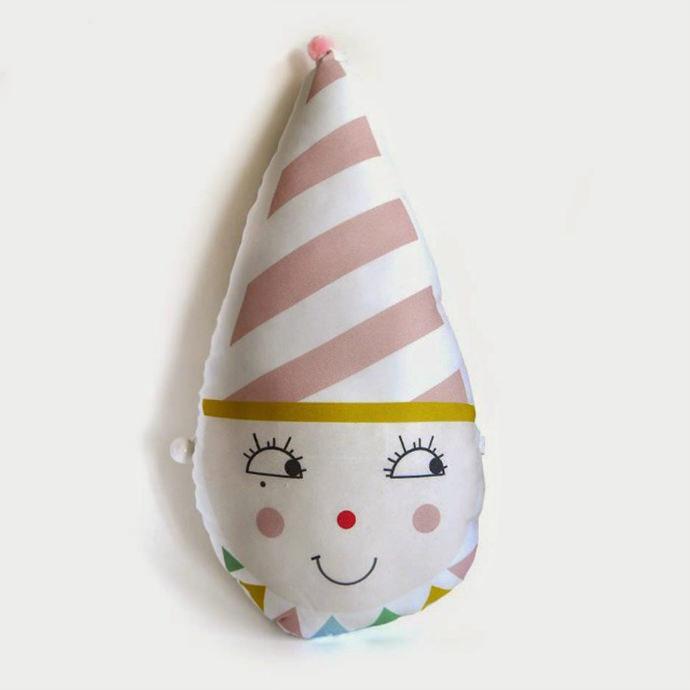 Musical clown plushie