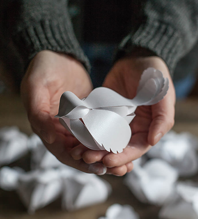 Cut Paper Birds