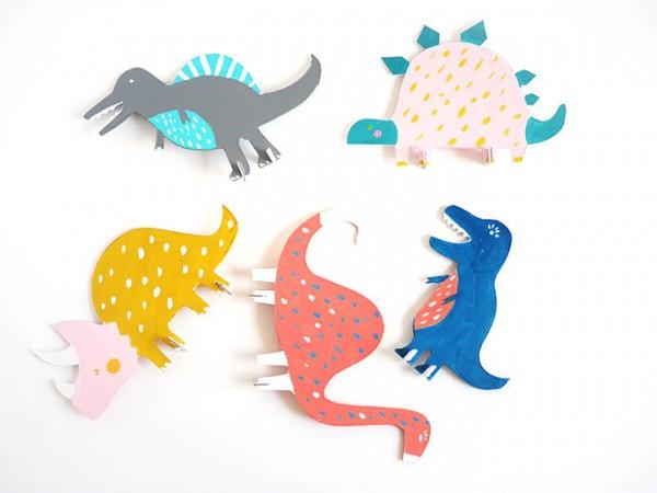 Поделки из бумаги своими руками динозавров