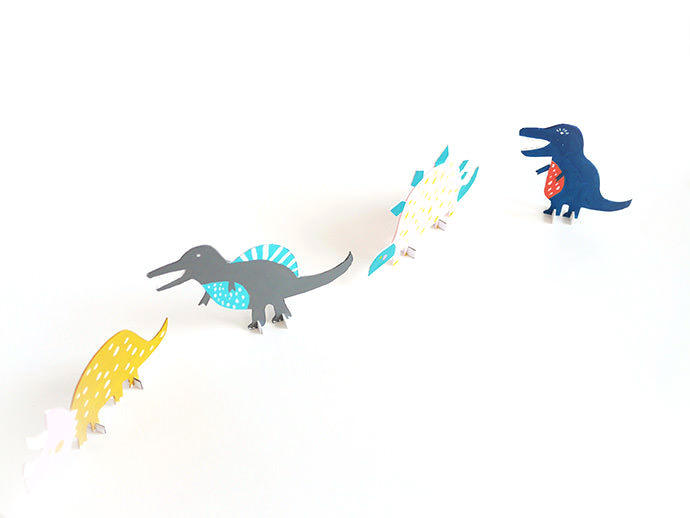 image regarding Dinosaur Cutouts Printable named Printable Dinosaur Minimize-Out Toys ⋆ Selfmade Charlotte