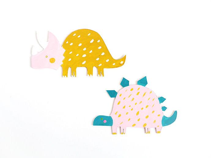 graphic relating to Dinosaur Cutouts Printable named Printable Dinosaur Slash-Out Toys ⋆ Homemade Charlotte