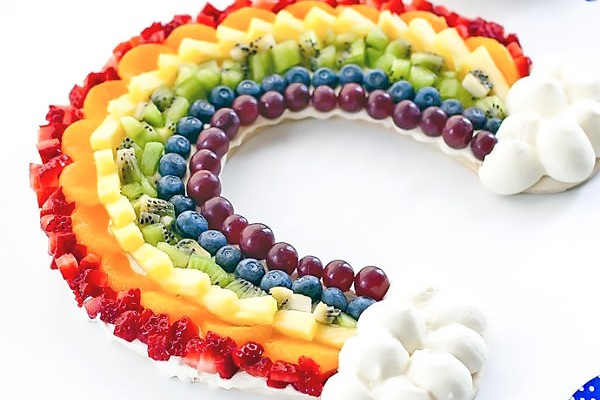 Rainbow Fruit Tart Recipe
