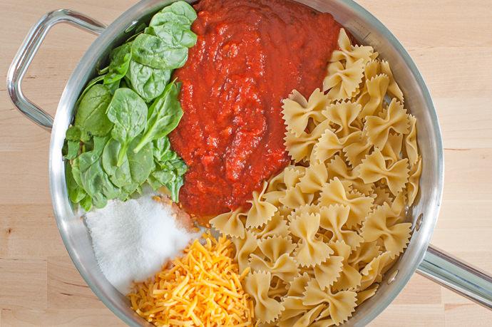 Easy Cheesy Bow Tie One-Pot Pasta Recipe