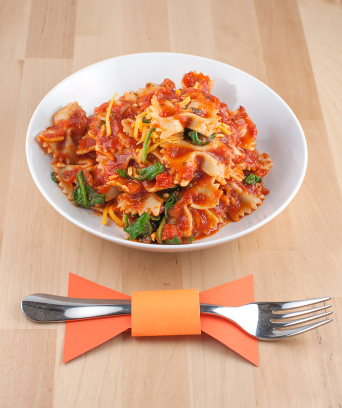 Easy Cheesy One-Pot Bow Tie Pasta Recipe
