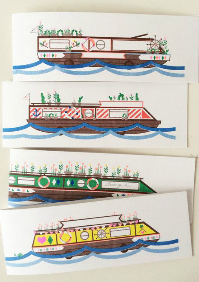Houseboat cards