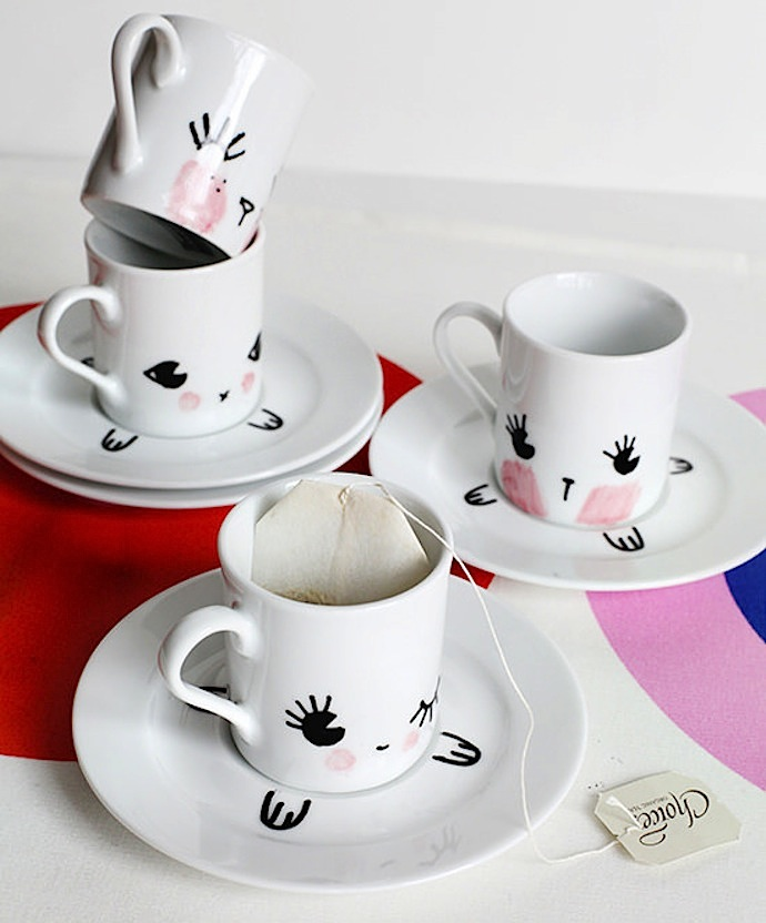 How To Decorate Coffee Mugs Intercasherinfo