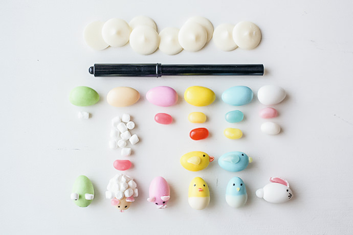diy easter cupcake animals