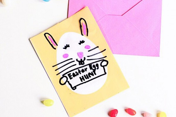 Dry Erase Easter Card Printables