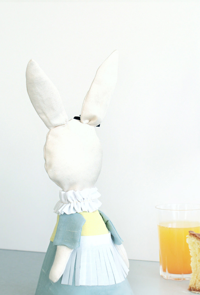 Easy-Sew Easter Bunny Candy Holder