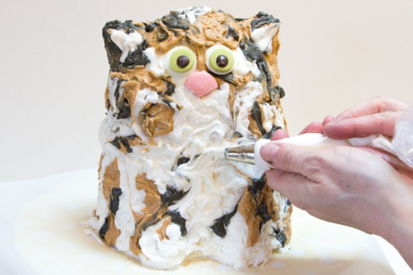 DIY Cat Cake Decorating Tutorial