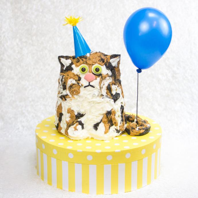 The Purrfect Birthday Cake  Handmade Charlotte