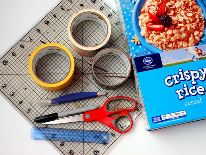 DIY Cereal Box Mail Carrier