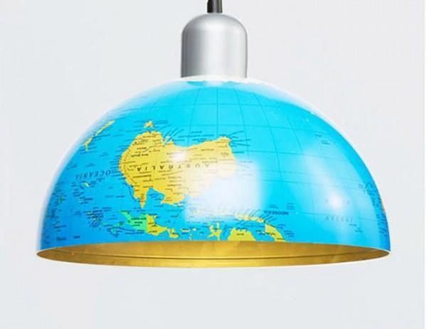 DIY Globe Pendant Lamp
