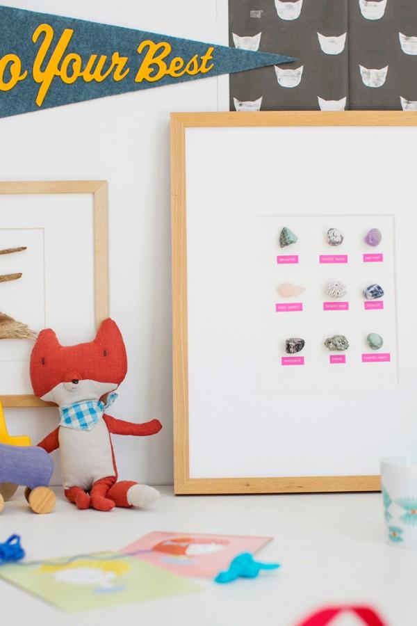 Clutter-free Label Maker Wall Art