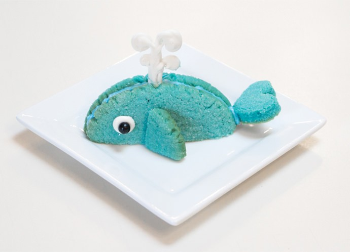 Whale Cookies Recipe