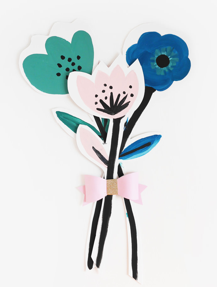 Make A Bouquet of Flower Cards for Mother\'s Day ⋆ Handmade Charlotte