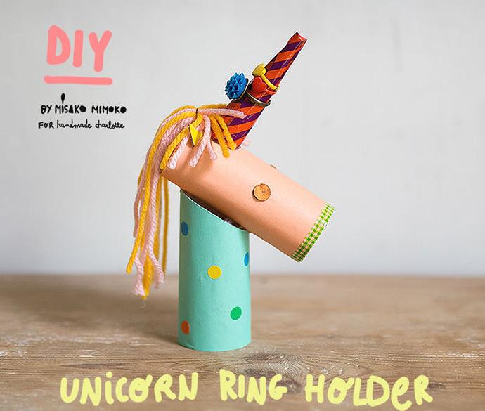 DIY Cardboard Unicorn Ring Holder | Handmade Charlotte