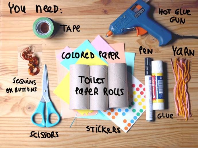 Materials for DIY Unicorn Ring Holder