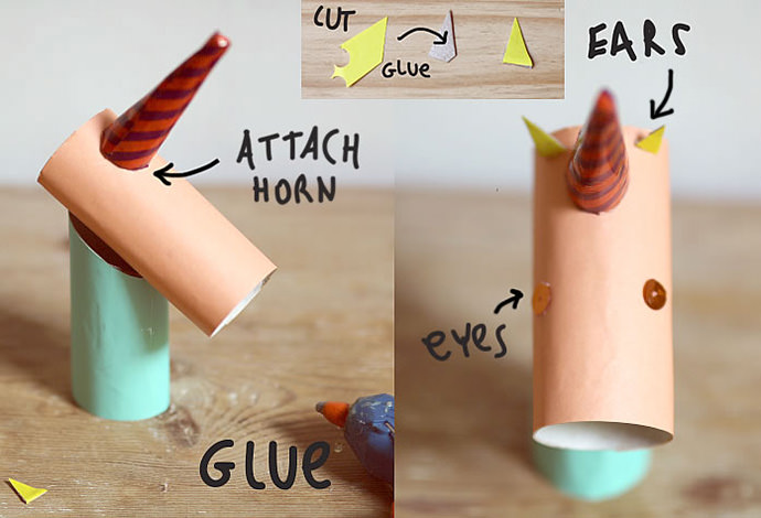 DIY Unicorn Ring Holder Step 3
