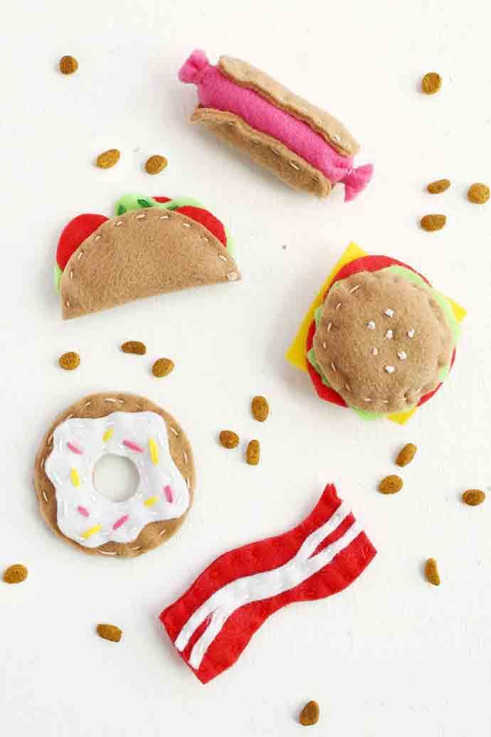 DIY Junk Food Cat Toys